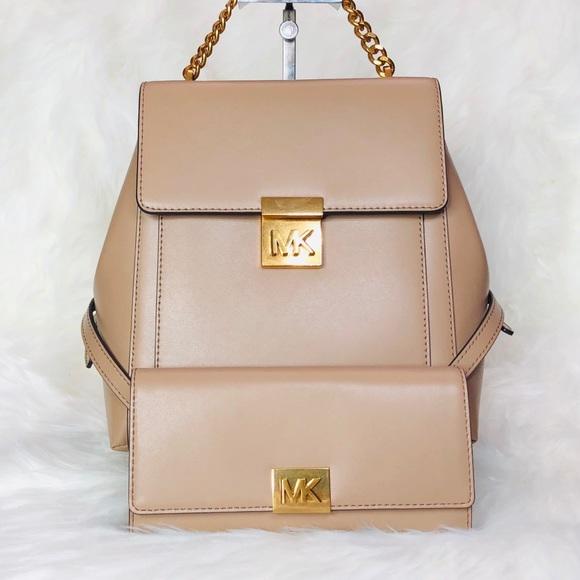 fc8d030d5c52e Michael Kors Mindy Medium Backpack Wallet Set